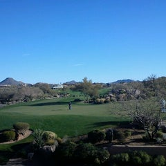Photo taken at Troon North Golf Club by Pete A. on 2/5/2012