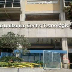 Photo taken at Centro Tecnológico Itaú Unibanco by Francisco O. on 4/13/2012