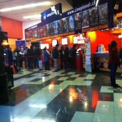 Photo taken at Cineplanet by Elena M. on 7/30/2012
