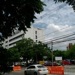 Photo taken at กรมการขนส่งทางบก (Department of Land Transport) by Nicky N. on 6/19/2012