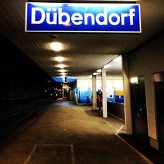 Photo taken at Bahnhof Dübendorf by Cesar M. on 3/5/2012