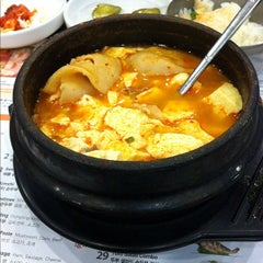 Photo taken at BCD Tofu House by Neil on 2/13/2012