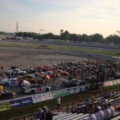 Photo taken at Toledo Speedway by Tom Z. on 8/24/2012