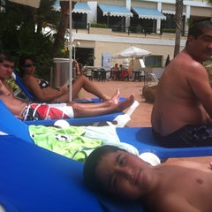 Photo taken at diverhotel Tenerife Spa&Garden 4* by Paloma P. on 8/31/2012