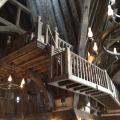 Photo taken at The Three Broomsticks by Mona D. on 3/10/2012