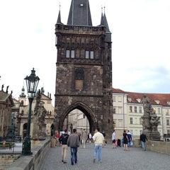 Photo taken at Staroměstská mostecká věž | Old Town Bridge Tower by Steve M. on 6/11/2012