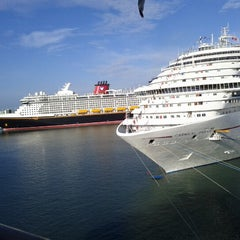 Photo taken at Port Canaveral by Shyamal on 8/18/2012