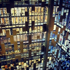Photo taken at NYU Bobst Library by Nick J. on 7/31/2012