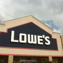 Photo taken at Lowe's Home Improvement by Barbara K. on 4/13/2012