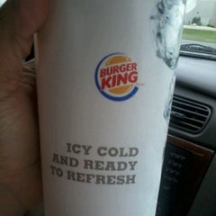 Photo taken at Burger King by Tara P. on 5/25/2012