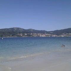 Photo taken at Praia de Castiñeiras by Carlos A. on 8/30/2012