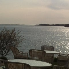 Photo taken at Wequassett Resort and Golf Club by Hope T. on 4/11/2012