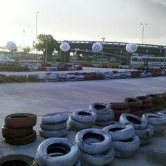 Photo taken at GKI Kart by Antonio L. on 8/8/2012