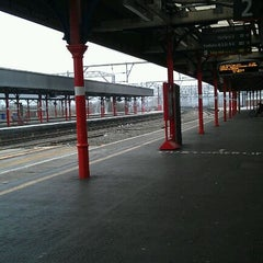 Photo taken at Stockport Railway Station (SPT) by Zombie G. on 3/15/2012