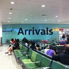 Photo taken at Terminal 3 by Chris P. on 4/23/2012