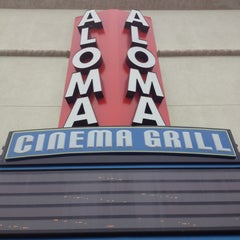 Photo taken at Aloma Cinema Grill by Jonathan S. on 6/23/2012