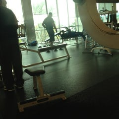 Photo taken at 24 Hour Fitness by Jason D. on 4/13/2012