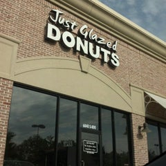 Photo taken at Just Glazed Donuts by Darren B. on 7/9/2012