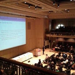 Photo taken at Lowell Lecture Hall by Chi-Chu T. on 5/3/2012