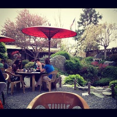 Photo taken at Domo Japanese Country Foods Restaurant by Kendall T. on 4/12/2012