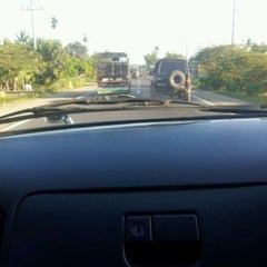 Photo taken at Lintas Sumatera (Teb.Tnggi-Medan) by Togu Raja T. on 4/25/2012