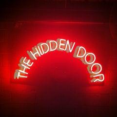Photo taken at Hidden Door by The Hidden Door on 4/28/2012