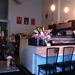 Photo taken at Sushi Bar Hime by Spencer H. on 3/2/2012