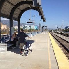 Photo taken at Metrolink Burbank-Bob Hope Airport Station by Billy M. on 4/15/2012