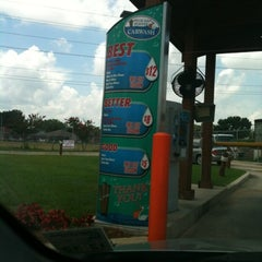 Photo taken at Pelican Pointe Car Wash by Nicole S. on 7/25/2012