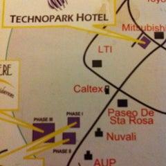 Photo taken at Technopark Hotel by Setyo H. on 2/25/2012