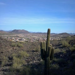 Photo taken at Sonoran Preserve - Sonoran Loop Trail by Julie H. on 3/14/2012