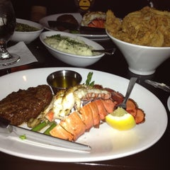 Photo taken at Famous Steak House by Stacy R. on 4/28/2012