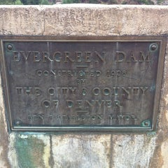 Photo taken at Evergreen Dam by Ginnie B. on 8/24/2012
