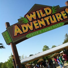 Photo taken at Wild Adventures Theme Park by Jeff D. on 4/14/2012