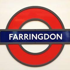 Photo taken at Farringdon London Underground Station by Steven E. on 9/10/2012