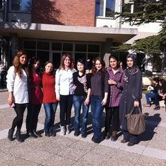 Photo taken at Anadolu Üniversitesi Eczacılık Fakültesi by Ezgi A. on 3/21/2012