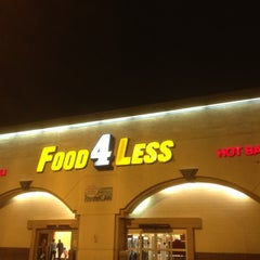 Photo taken at Food 4 Less by Sam Yeol K. on 7/3/2012