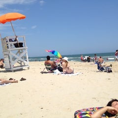 Photo taken at 8th Street at the Oceanfront by Raynald D. on 6/1/2012