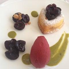 Photo taken at Dolder Grand Garden Restaurant by Julie on 8/10/2012