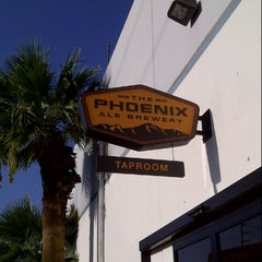 Photo taken at The Phoenix Ale Brewery by Amy H. on 8/11/2012