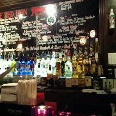 Photo taken at The Red Lion by Julie W. on 3/21/2012