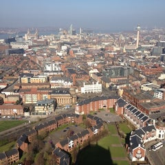 Photo taken at Liverpool Cathedral by Hanna M. on 3/28/2012