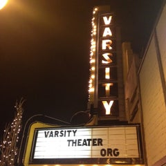 Photo taken at Varsity Theater & Cafe des Artistes by Mel T. on 3/23/2012