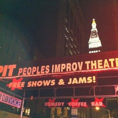 Photo taken at The Peoples Improv Theater by Chris S. on 9/8/2012