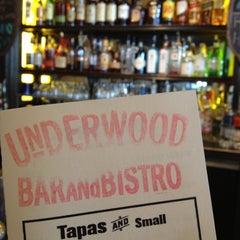 Photo taken at Underwood Bar & Bistro by Bill G. on 6/16/2012