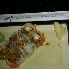 Photo taken at Soya Sushi by Toya on 5/30/2012