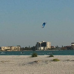 Photo taken at Ted Sperling Park at South Lido Beach by Michelle M. on 4/11/2012