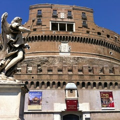 Photo taken at Castel Sant'Angelo by Bert S. on 8/20/2012