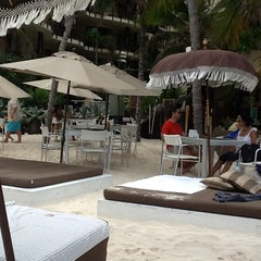 Photo taken at The Blue Parrot Beach Club by Alberto E. on 7/22/2012