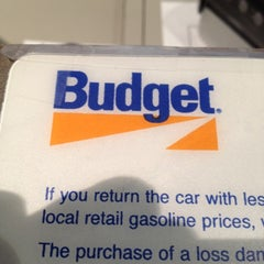 Photo taken at Budget Car Rental by Wayne T. on 3/25/2012